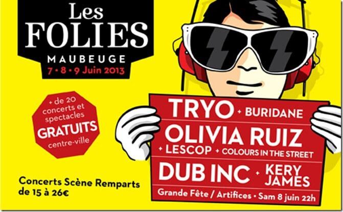 Les Folies 2013 Maubeuge Manege
