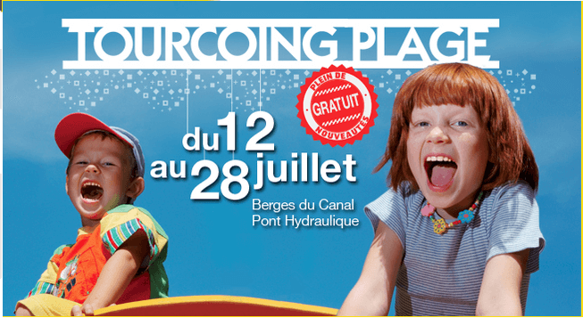 Tourcoing plage 2013