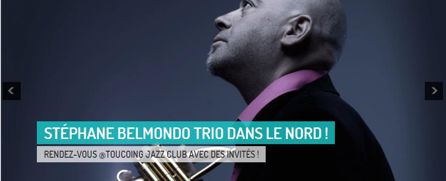 Stéphane Belmondo Trio au Tourcoing Jazz Club