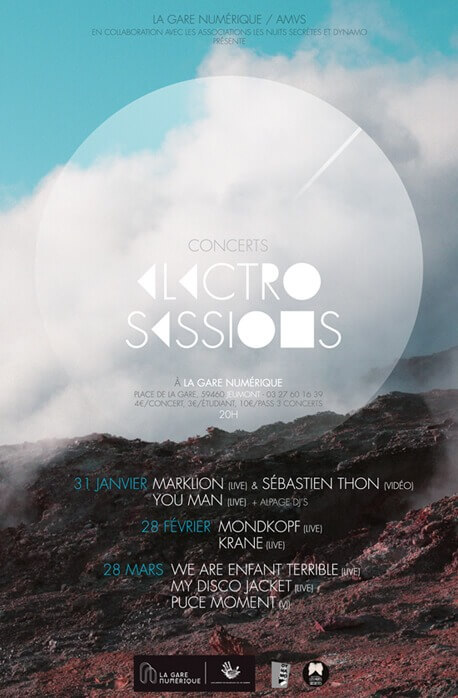 electro sessions visuel