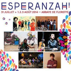 esperanzah 2014 abbaye de floreffe artistes programmés festival world music