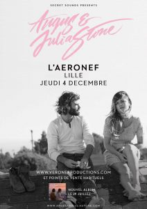 affiche angus julia stone aéronef lille france leduc verone productions