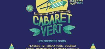 le cabaret vert 2014 festival