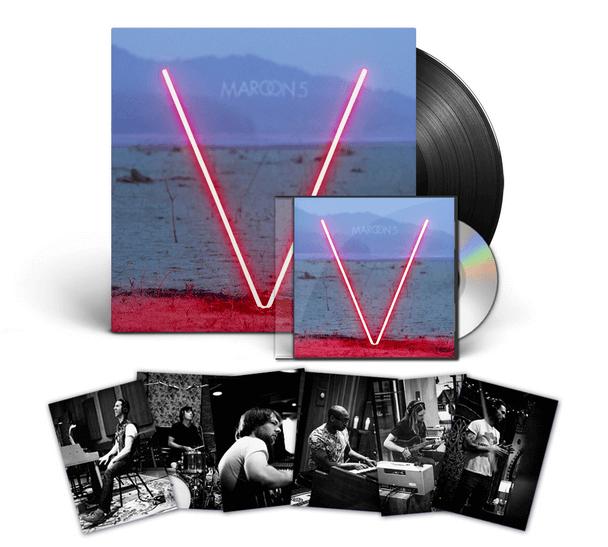 maroon5 v album disque