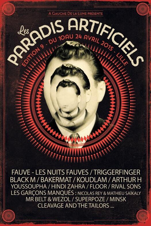 les paradis artificiels 2015 lille