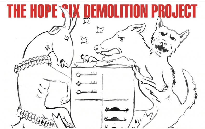 PJ Harvey The hope six demolition project