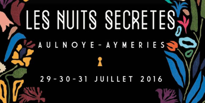 Les Nuits Secrètes 2016 aulnoye-aymeries