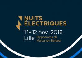 Les Nuits Électriques 2016 5e edition hippodrome marcq-en-baroeul festival