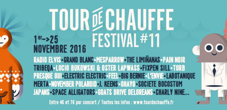 Festival Tour de Chauffe 2016 : du 1er au 25 novembre