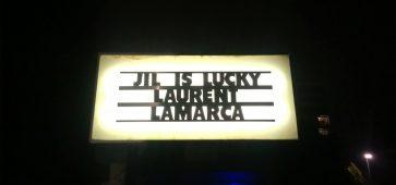 Jil is Lucky + Laurent Lamarca (la Péniche, Lille, le 12/10/2016)