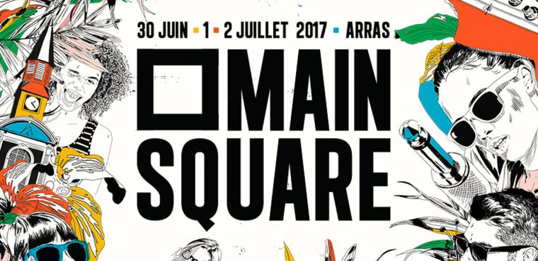 Main Square Festival 2017 : rendez-vous incontournable à la Citadelle d'Arras