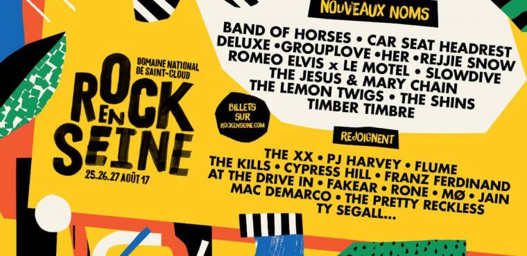 24 nouveaux artistes au Rock en Seine 2017