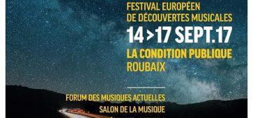 CROSSROADS FESTIVAL 2017 Condition Publique Roubaix
