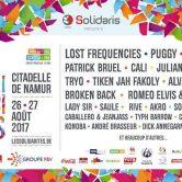 La 5e édition du festival Les Solidarités 2017 les 26 et 27 août