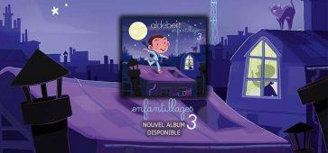 Aldebert Enfantillages #3 tournée concert hauts-de-france belgique place ticket réservation billet cacestculte