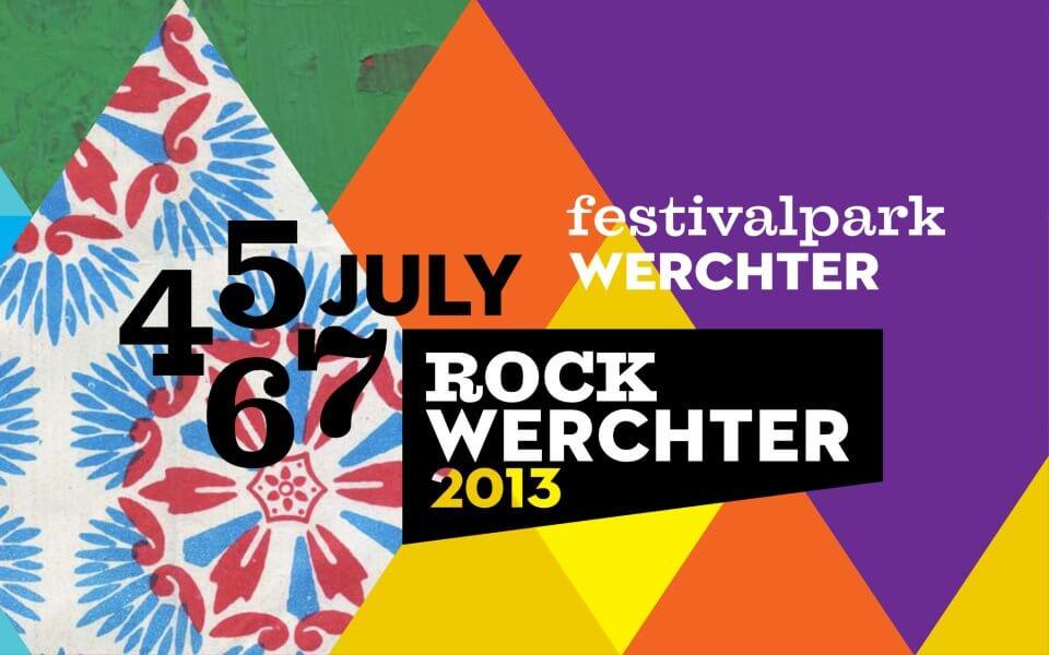 Rock Werchter 2013 festival parc