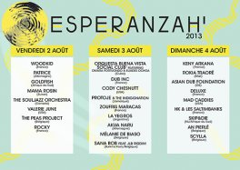 Découvrez Esperanzah Festival 2013 (Belgique)