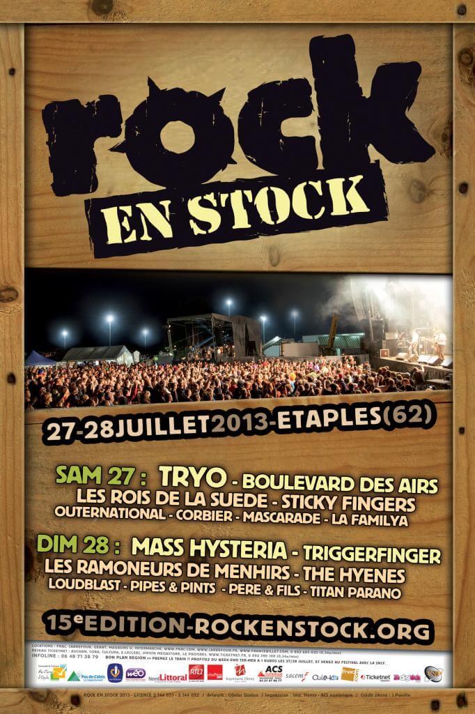 Rock en Stock 2013 affiche_2013 rock en stock étaples