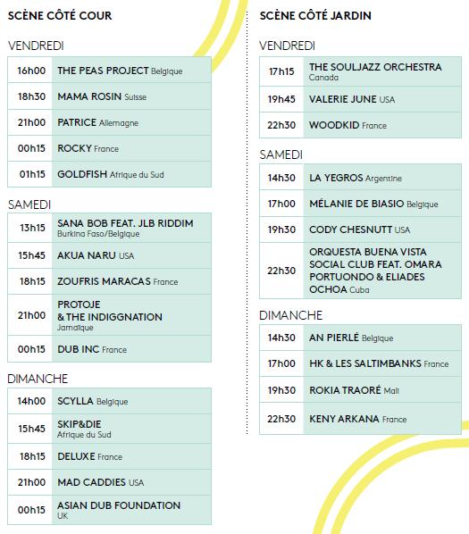 programme musical esperanzah 2013