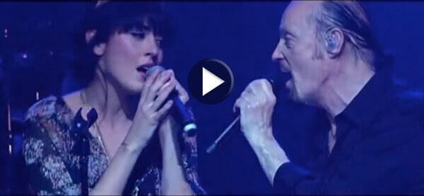 Alan Stivell en duo avec Nolwenn Leroy - Brian Boru