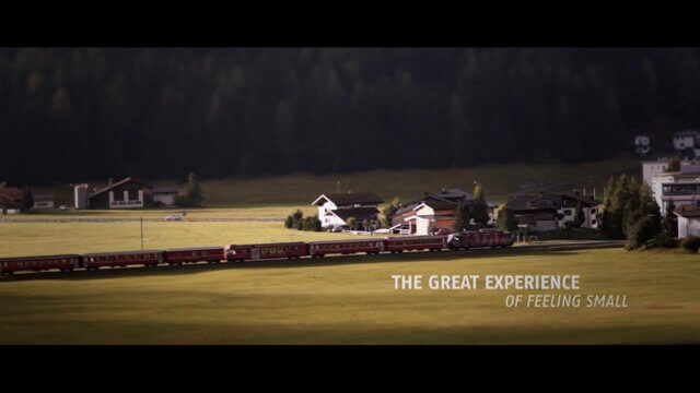 Jeff K-ray - The Great Experience of Feeling Small - Rhaetian Railway