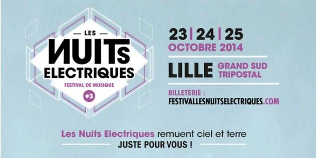 Les Nuits Électriques 2014 Lille festival