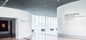 CARTE BLANCHE À 4 COMPAGNIES DE LA RÉGION au musée Louvre-Lens pavillon de verre ça c'est culte