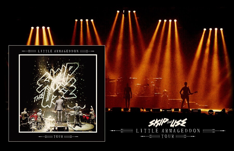 skip the use little armageddon tour cd dvd cacestculte