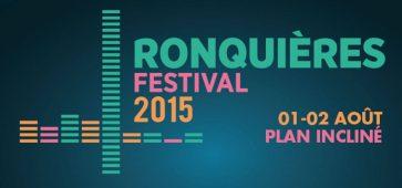 Ronquières Festival les 1 et 2 août 2015