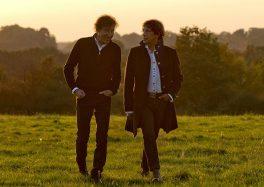 Alain Souchon et Laurent Voulzy au Zenith de Lille