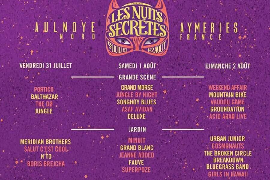 Le-programme-Les-Nuits-Secrètes-2015-nuits-secretes-2015-line-up-cacestculte Les Nuits Secrètes