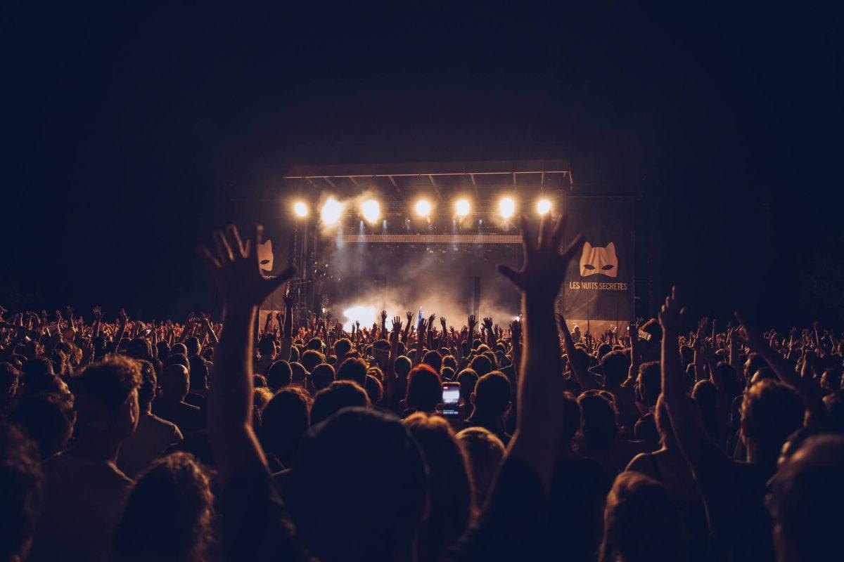 Concerts dans les rues pendant Les Nuits Secrètes 2015