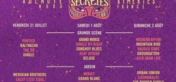 Le programme Les Nuits Secrètes 2015 nuits secretes 2015 line up cacestculte