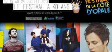 Festival de la Côte d'Opale 2016 40 ans