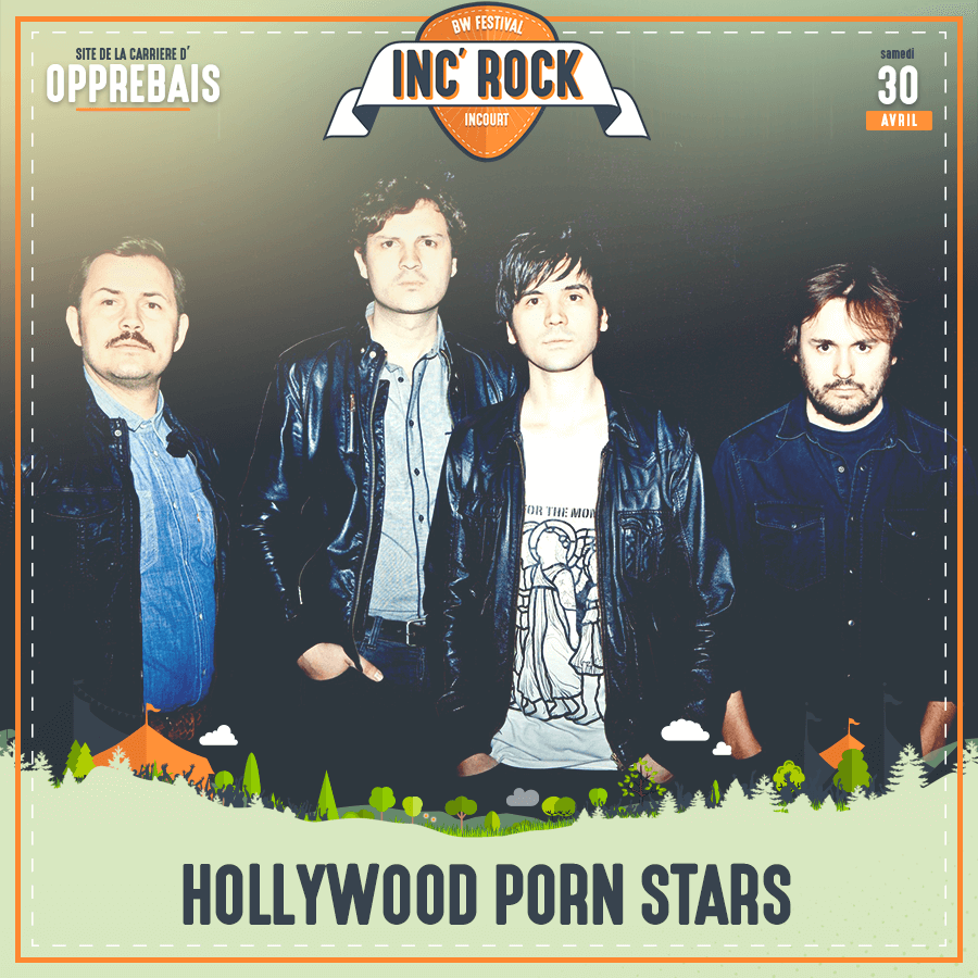 Inc'Rock festival 2016 incourt hollywood porn stars