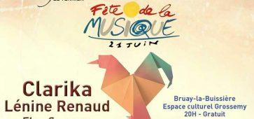 Fête de la musique le 21 juin 2016 à Bruay-la-Buissière