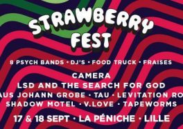 Strawberry Fest La Péniche lille rock psychédélique festival