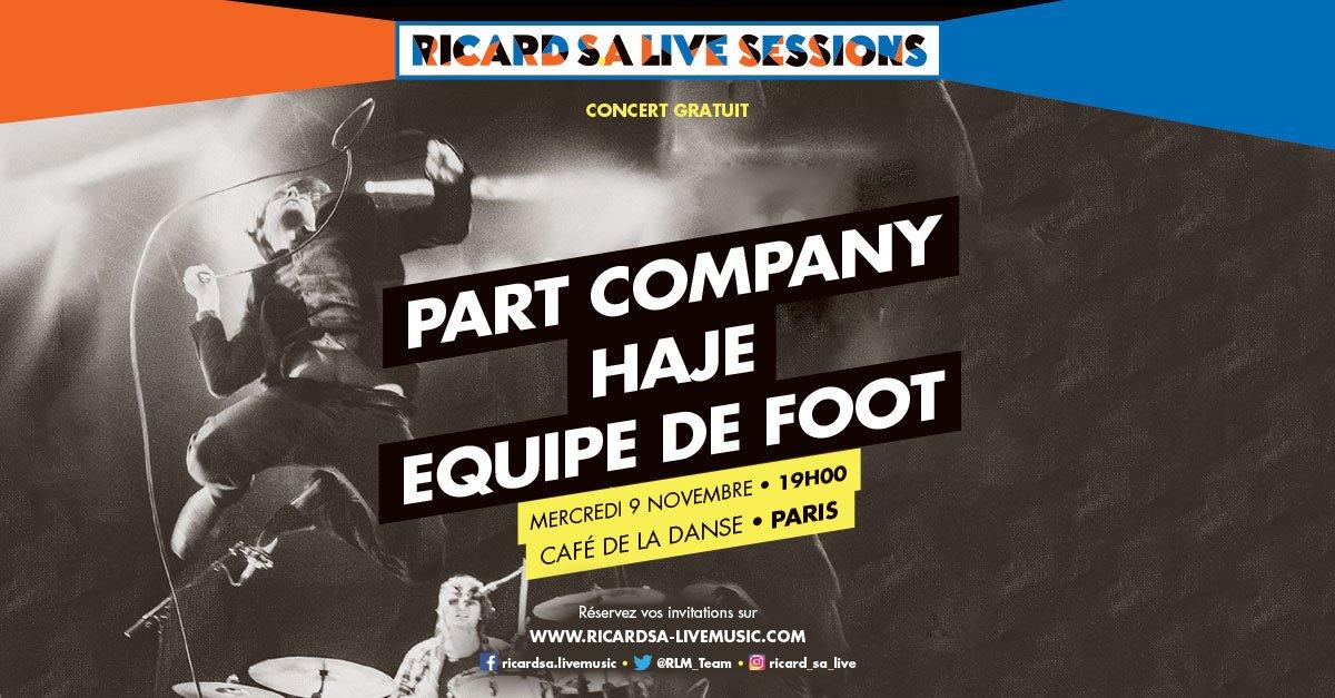 Ricard S.A Live Sessions Ricard Live SA Café de la danse