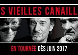 Les Vieilles Canailles tournée 2017 stade pierre mauroy villeneuve d'ascq
