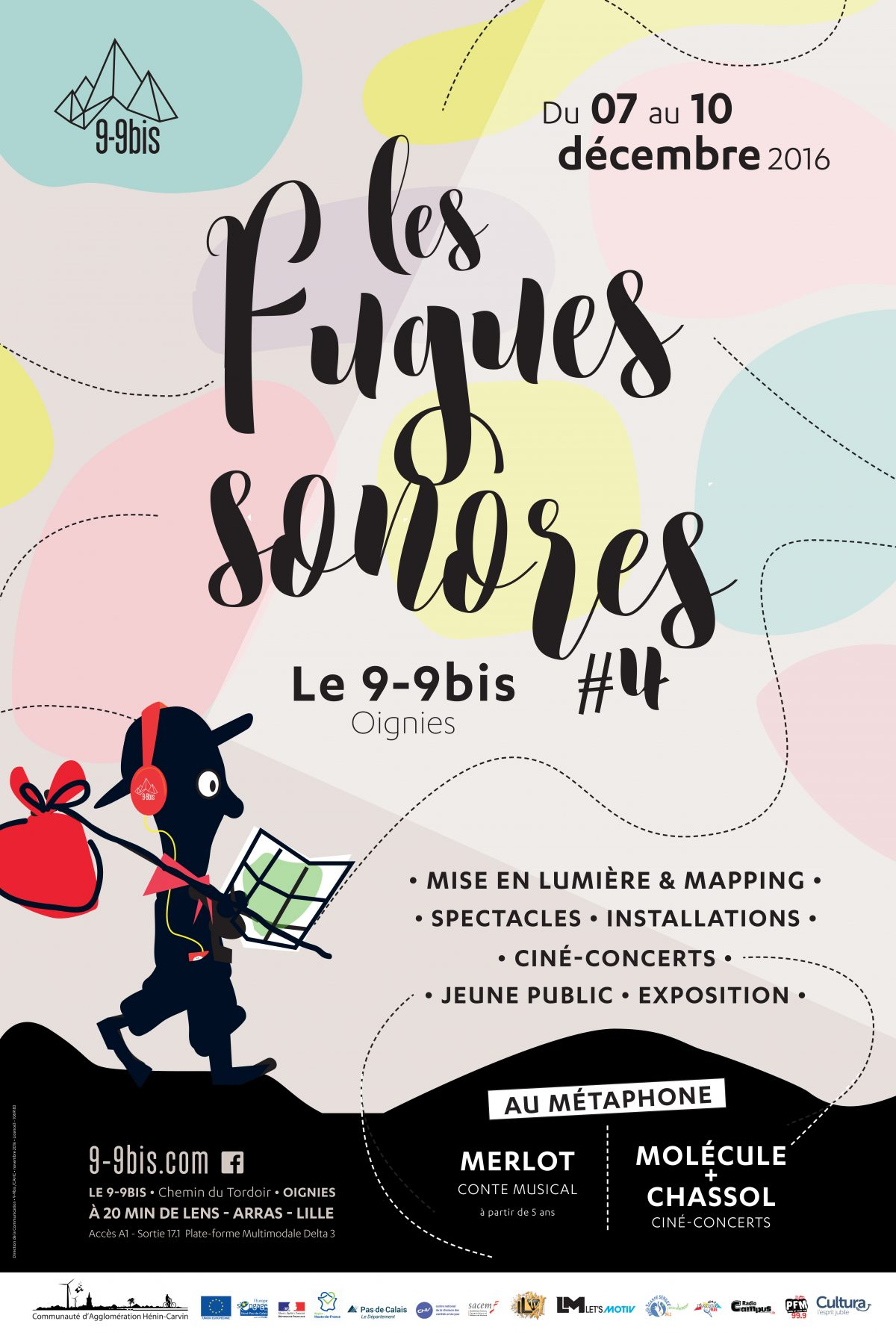 affiche les fugues sonores 4-2017-metaphone-9-9bis-oignies-festival
