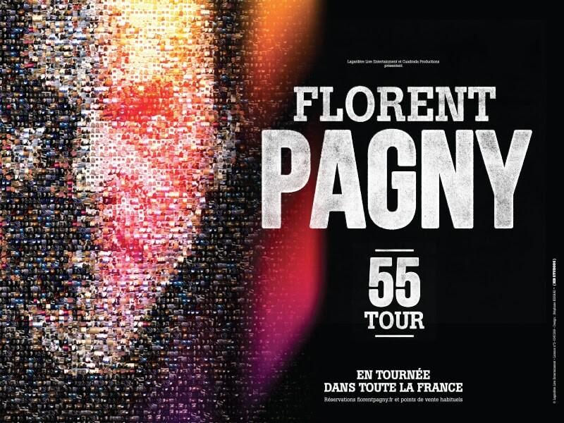 Florent Pagny en concert au Zénith de Lille et d'Amiens