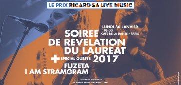 Révélation du Lauréat du Prix Ricard SA Live Music 2017
