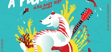 logo chien à plumes 2017 festival