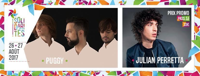 LES SOLIDARITÉS 2017 festival PUGGY ET JULIAN PERRETTA