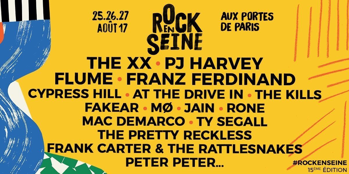 rock en seine 2017 festival
