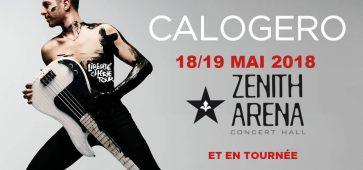 Calogero au Zénith de Lille Liberté Chérie Tour concert ça c'est culte billet place ticket réservation digitick ticketmaster fnac cultura billetterie infoconcert