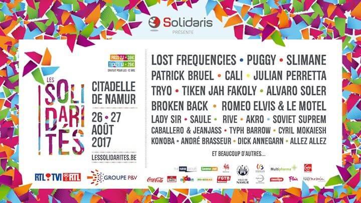 Les Solidarités 2017 festival