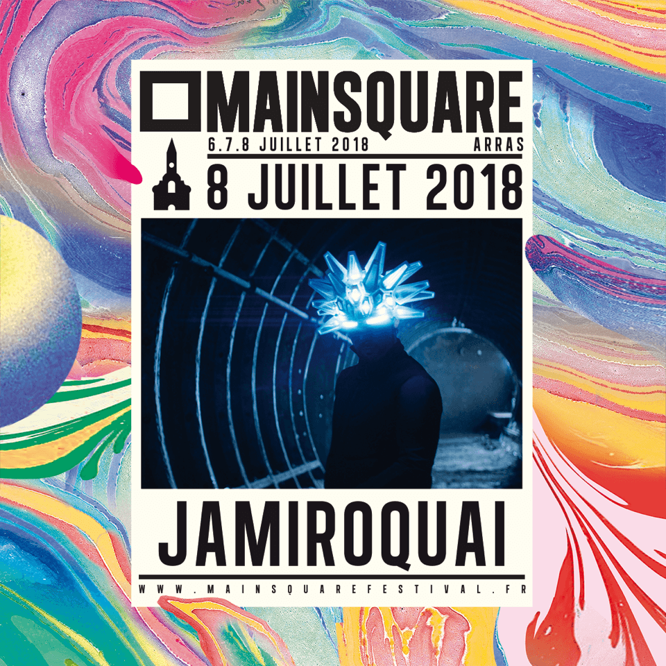 Jamiroquai au Main Square Festival 2018