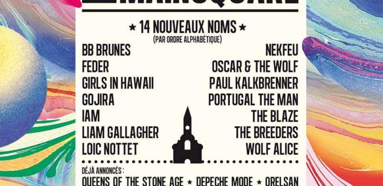 14 NOUVEAUX NOMS DÉVOILÉS POUR L'ÉDITION 2018 du Main Square d'Arras