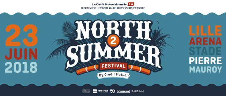 North Summer Festival 2018 au Stade Pierre Mauroy